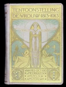 boekband koninklijk huis: tentoonstelling de vrouw 1813-1913