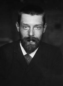 Gerrit Willem Dijsselhof, foto Willem Witsen (ca. 1892)