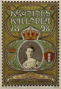 Kroningskalender 1898, J.G. van Caspel (collectie koninklijk huis)