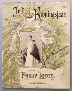 Muziekblad - In 't Kroningsjaar (1898)