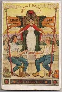 Programmaboekje Oranjefeesten Edam 1913, Antoon van Welie