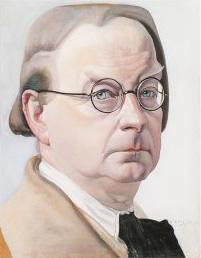 Chris Lebeau, zelfportret uit 1933