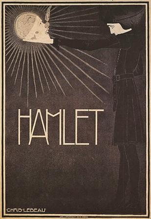 Hamlet affiche voor Die Haghespelers