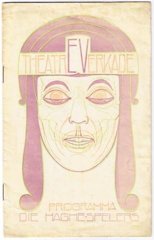 Programmaboekje voor Die Haghespelers, Chris Lebeau (1914)
