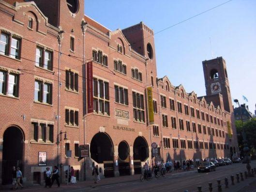 De Beurs van Berlage in Amsterdam