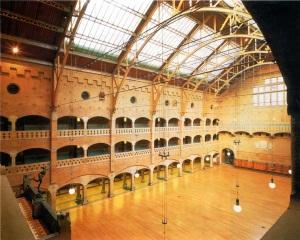 De grote zaal in de Beurs van Berlage in Amsterdam