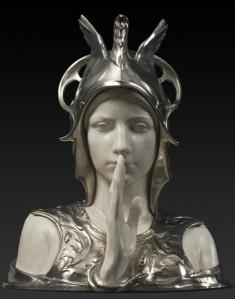 De geheimzinnige Sfinx, Charles Van der Stappen 1897 (KMKG)