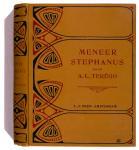 Meneer Stephanus - A.L. Terégo, bandontwerp: Willem Jiddo Taanman (ca. 1915)
