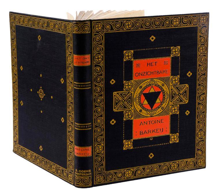Het Onzichtbare - Antoine Barkeij, bandontwerp: Wilhelmina Drupsteen (1912)