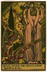 Dan mag de beiaard spelen, prent van Jos Speybrouck (1920)