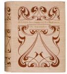 De Levensbeschouwing der Modernen, bandontwerp: Johann Georg van Caspel (1899)
