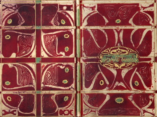 Boekband-Lion-Cachet-Batik-Collectie-Wolfsonian-FIU