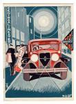 Programmaboekje Centraal Theater, omslagontwerp: Willem van de Poll (1933)