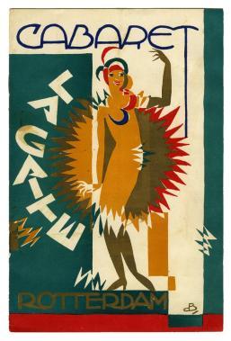 Programmaboekje Cabaret La Gaîté Dansant - Grand Theatre Rotterdam (ca. 1925)
