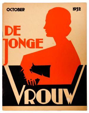 De jonge vrouw (1932), omslagontwerp: onbekend