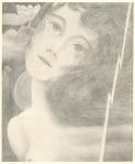 Boekillustratie voor Fidessa 2e druk 1899, ontwerp: Jan Toorop