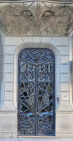 art-nouveau-deur-palacio-de-los-lirios