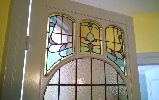 glas-in-lood_deurraam_Lorrie_Huis_Den Haag