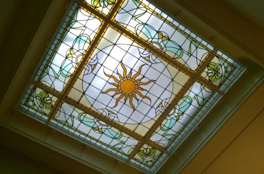 Lichtkoepel_glas-in-lood_Lorrie_Huis_Den_Haag