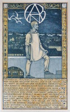 Jubileumprent_ANDB_Roland_Holst_1904