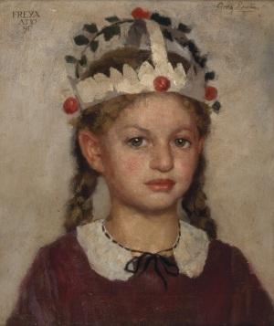Georg Rueter, De verjaardagskroon, 1917 (Collectie SSK)