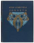Zonnetij - Stijn Streuvels, bandontwerp: Johann Georg van Caspel (1908)