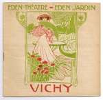 Programmaboekje Eden-Théatre - Eden-Jardin, Vichy (1906)