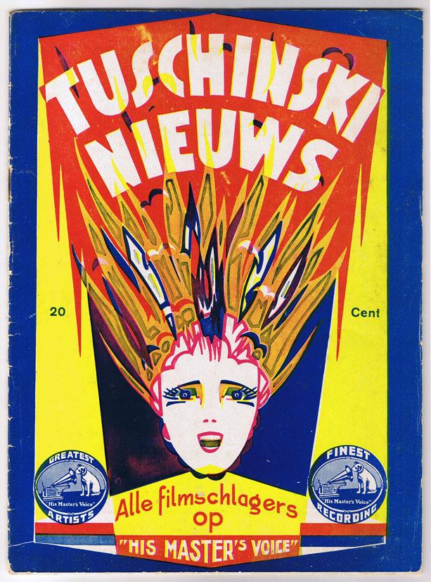 Tuschinski Nieuws, omslagontwerp Pieter den Besten (1932)