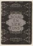 Bouw- en Sierkunst (1e jrg 1898), omslagontwerp: Karel de Bazel