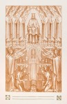 Illustratie voor het Hooglied van Salomo (pag. 13) door Bart van der Leck (1905)
