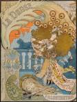 art nouveau tijdschrift l'Illustration - La Danse omslagontwerp: Maurice de Lambert 1894
