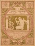 Tijdschrift De Architect omslagontwerp Richard N. Roland Holst 1912