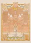 Decorontwerp voor Gijsbreght van Aemstel ontwerp Hendrik Petrus Berlage 1893