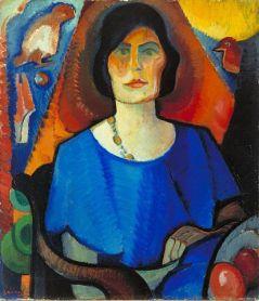 Else_Berg_Selfportrait_1917
