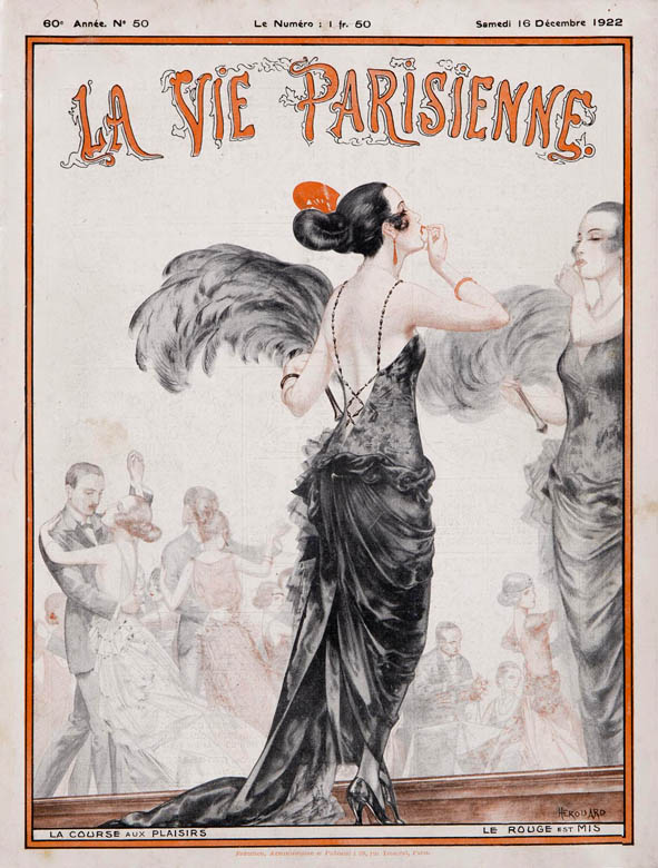 La_Vie_Parisienne_illustration_Cheri_Herouard_art deco_1922