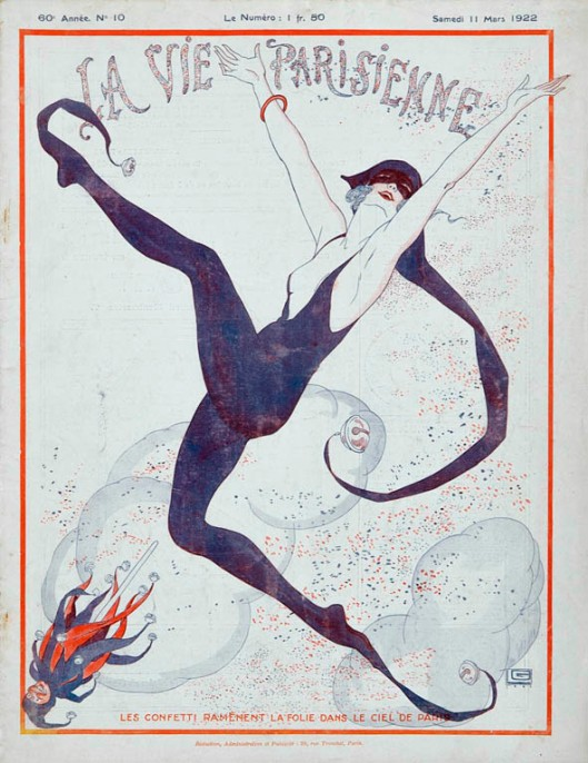 La_Vie_Parisienne_illustration_Georges_Leonnec_art deco_1922