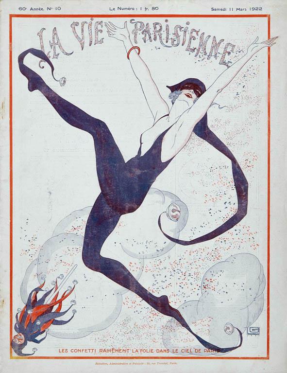 La_Vie_Parisienne_illustration_Georges_Leonnec_art deco_1922