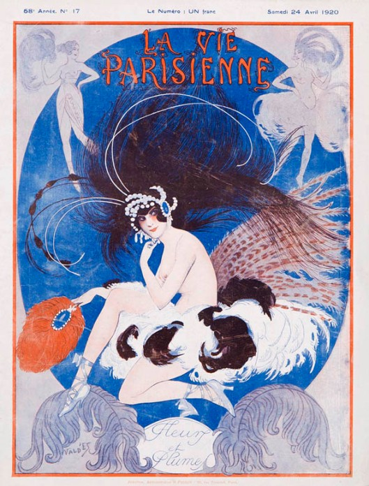 La_Vie_Parisienne_illustration_ValdEs_art deco_avril_1920