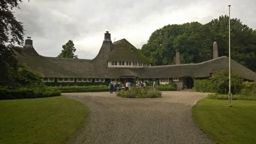 Amsterdamsche School landhuis 't Reigersnest in Oostvoorne architecten Vorkink en Wormser