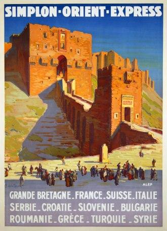 Affiche Simplon Orient-Express, 1927 (particuliere collectie)