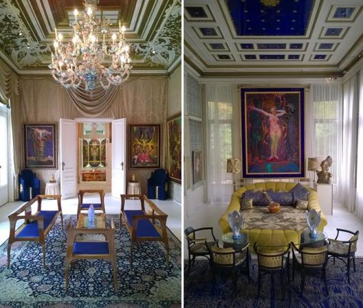 Otto_Wagner_villa_1_Ernst_Fuchs_Museum_Wenen_Vienna_interieur