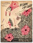 Muziekblad - Yo t'aime et yo t'adore - ontwerp Charles Gesmar - Josephine Baker