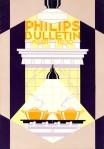 Philips bulletin omslagontwerp Jacob Nuiver 1930 stijl art deco