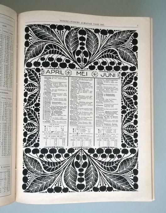 Nederlandsche_Almanak_1905_kalender_neuhuys