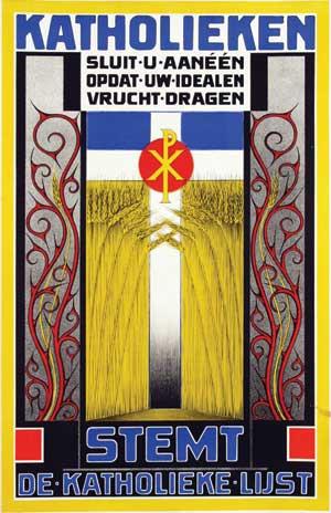 Stemt-de-Katholieke-lijst-affiche-frans-bosen