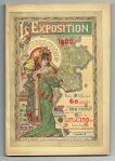Guide L'Exposition 1900 et ses attractions art nouveau jugendstil