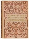 boekband Het land van Rembrandt door Cd. Busken Huet ontwerp Willem F.A. Pothast