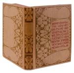 boekband Theorie en practijk van het Britsche Vakvereeniginswezen ontwerp Theo Neuhuys 1903