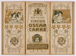 art nouveau jugendstil programma Koninklijk Nederlandsch Circus Oscar Carré 1905