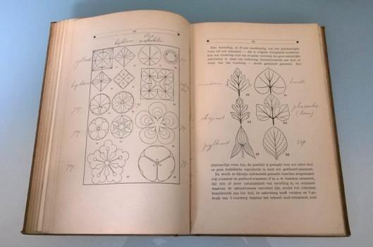 Jan_Ros_ontwerpen_vlakornament_gestileerde_plantvormen
